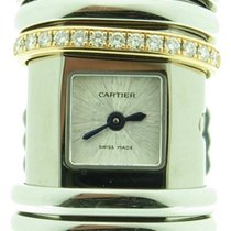 Cartier Declaration Wt000830 Diamond Steel & 18k Pink Gold...