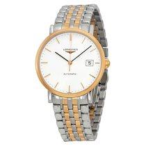 Longines Elegant White Dial Two-tone Watch L48105127
