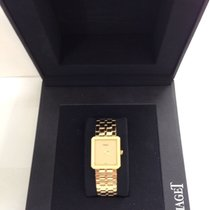 Piaget CERTIFIED $12,000 PROTOCOL MENS WATCH 18KT YG ORIG BOX...