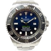 Rolex Sea-Dweller Deepsea D-Blue LC 100 James Cameron ungetragen