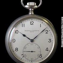 Vacheron Constantin Military Pocket Watch 60mm 925 Silver