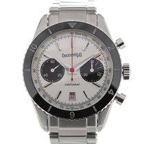 Eberhard & Co. Contograf 42 White Dial Chronograph