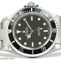 Rolex Submariner 14060 No Date Year 1999 40mm Black Stainless...