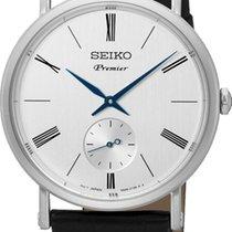 Seiko Premier SRK035P1 Herrenarmbanduhr flach & leicht