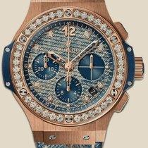 Hublot Big Bang Jeans Gold Diamonds
