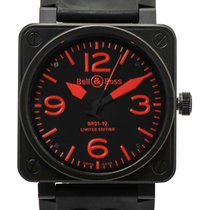 Bell & Ross Aviation BR01 92 Red PVD LE Automatic Watch...