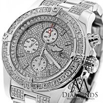 Breitling Super Avenger Diamond Dial Bezel And Bracelet A13370...