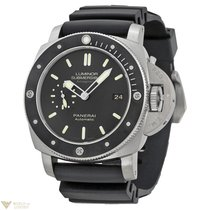 Panerai Luminar Submersible 1950 Amagnetic Titanium Men's...