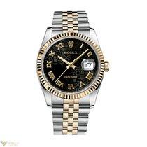 롤렉스 (Rolex) Oyster Perpetual Datejust 18K Yellow Gold Stainles...