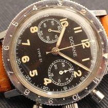 Dodane type 21 xxi military watch fly back engraved caseback fg