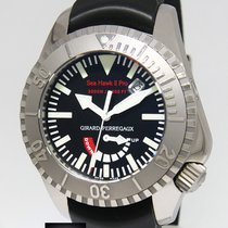 Girard Perregaux Sea Hawk II Pro Titanium Divers 45mm Watch...