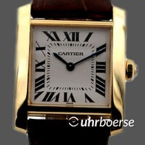 Cartier Tank Francaise in Gelbgold 18kt 1821