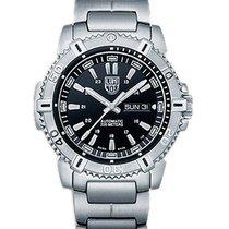 Luminox Mens Modern Mariner Automatic Watch - Black Dial -...