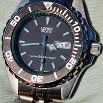 Lorus Sports Sub Professional 200 Mt. Quarzo In Stile Submariner