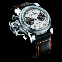 Graham Chronofighter Oversize R.A.C. Silver Fighter