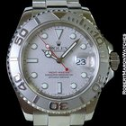 Rolex 16622 Yachtmaster Steel Platinum 40mm Automatic