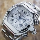 Cartier Roadster Chronograph Automatic Watch Circa 2008 Cn12