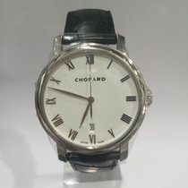 Chopard Classique 18k white gold leather