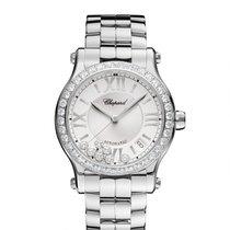 Chopard Happy Sport Medium Diamond Automatic Ladies  278559-3004