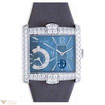 Harry Winston Avenue Squared A2 18K White Gold Diamonds Ladies...