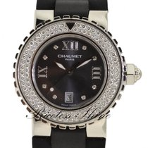 Chaumet Paris Class One Ladies Steel Watch W/ Diamond Dial...