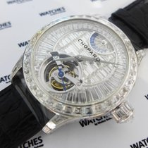 Chopard L.U.C. Tourbillon Platinum Baguette Diamond Limited...