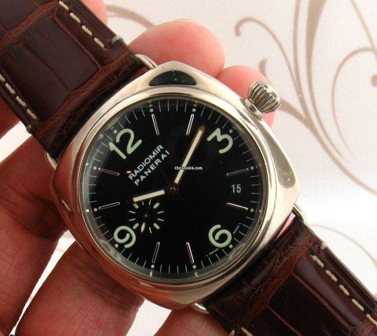 pre owned panerai watches on chrono24 panerai radiomir pam 062 00062 18k white gold men watch