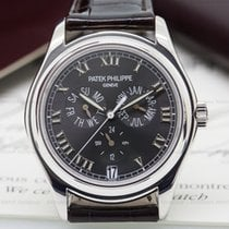 Patek Philippe Annual Calendar 18K White Gold Grey Dial