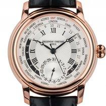 Frederique Constant Worldtimer Roségold Automatik Armband...