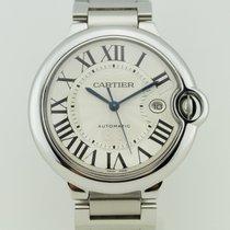 Cartier Ballon Bleu Large 42mm Date Steel Automatic 3001