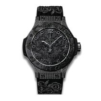 Hublot Big Bang Broderie 41mm Automatic PVD Stainless Steel...