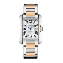 Cartier Tank Anglaise Automatic Date Ladies watch W5310037