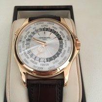 Patek Philippe World Time 5130R Rose / Pink Gold  FULL SET NOS...