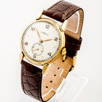 Lemania Vintage dress watch 9ct gold