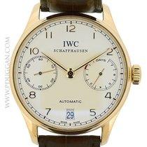IWC 18k rose gold Portugieser
