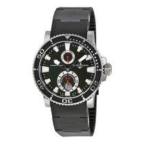 Ulysse Nardin Maxi Marine Diver Black Dial Mens Watch 263-33-3...
