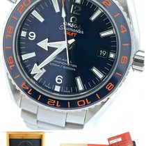 Omega Seamaster Planet Ocean GMT 600m Blue Ceramic Watch