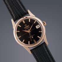 Omega Constellation 'De Luxe Pie-Pan' Rose gold capped...