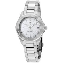 TAG Heuer Aquaracer Mop Dial Stainless Steel Ladies Watch...