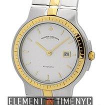 Vacheron Constantin Phidias Steel & Gold Silver Dial 35mm...