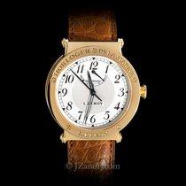 L.Leroy Men's Watch Marine Automatic Chronometer 18K Yellow
