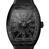 Franck Muller VANGUARD CARBON - 100 % NEW - FREE SHIPPING