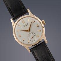 Longines 9ct yellow gold manual watch