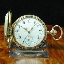 Glashütte Original System  14kt 585 2 Deckel Gold Savonette...