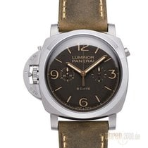Panerai Luminor 1950 Chrono Monopulsante Left-Handed 8 Days Titan