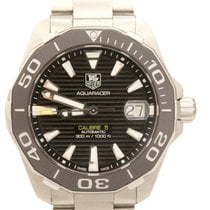 TAG Heuer Aquaracer Calibre 5 Auto Stainless 40mm B&P Watch