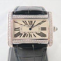 Cartier Tank Divan XL Aftermarket Diamond Setting Ref. 2600