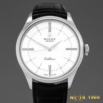 Rolex Cellini Time 50509 White Gold Automatic Box & Papers