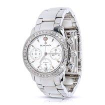 Blancpain Leman Flyback Women's Watch in Steel &...
