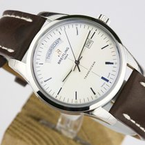 Breitling TRANSOCEAN DAY-DATE-SILVER DIAL-43MM
